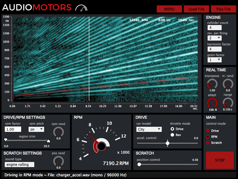 AudioMotors V3 Pro - Le Sound