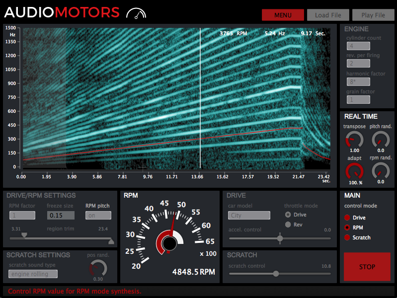 AudioMotors