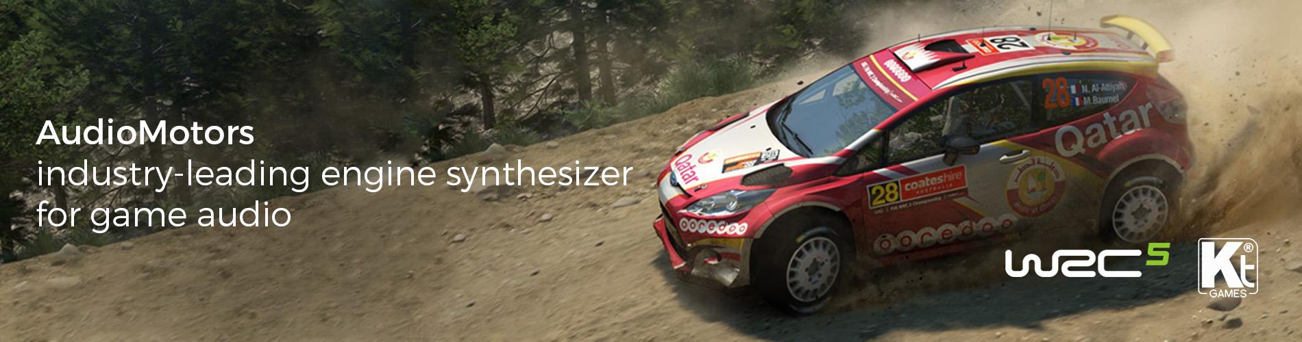 AudioMotors WRC5